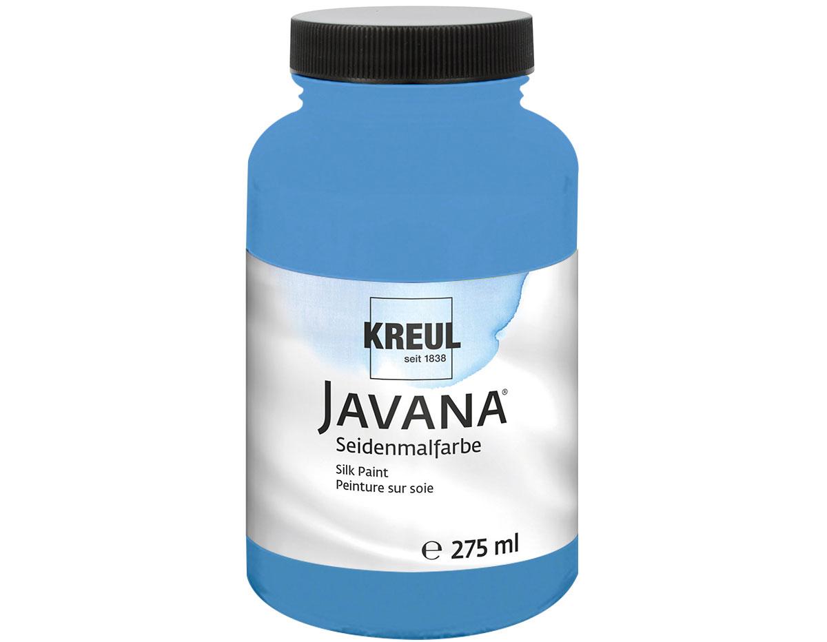 K8153-275 Pintura para seda azul fluor Javana
