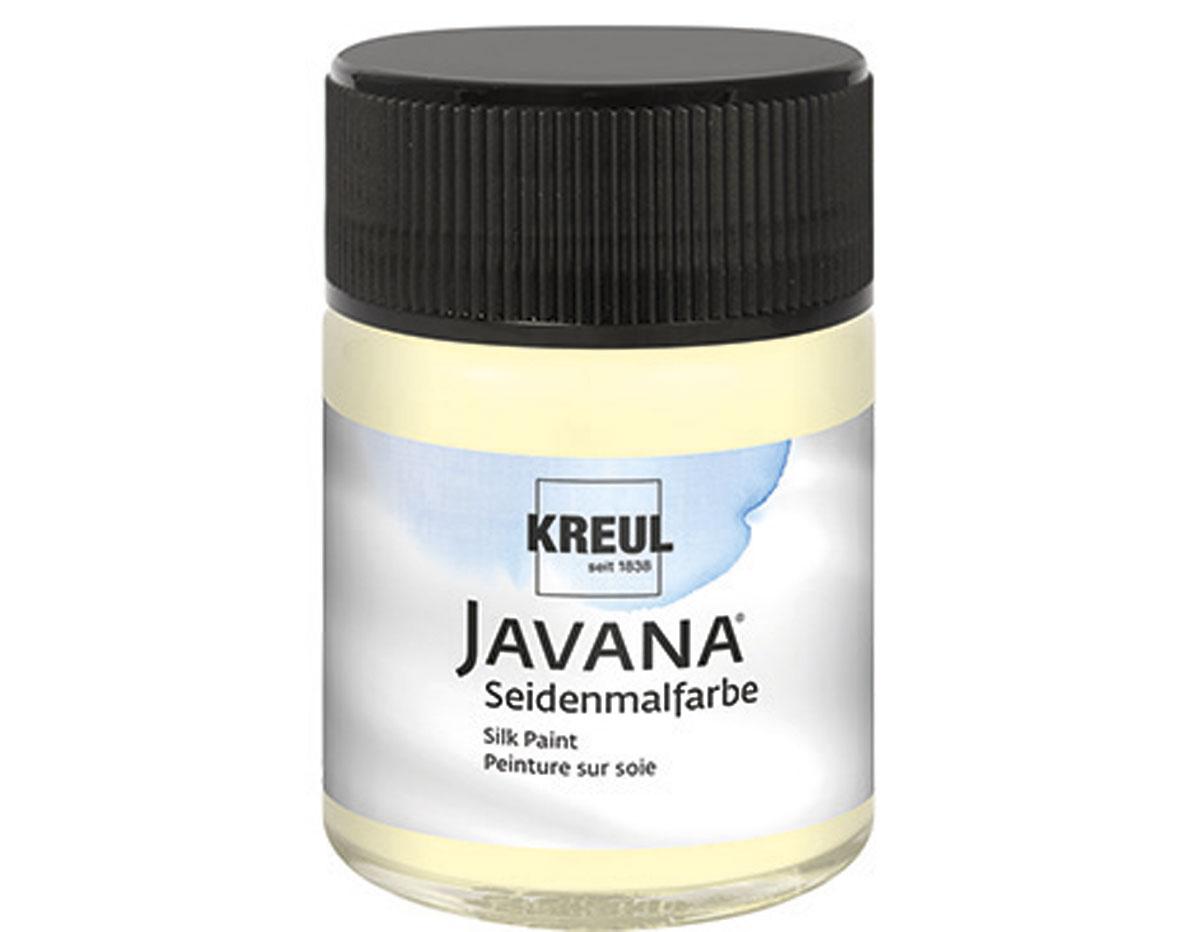K8168 Pintura para seda amarillo pastel Javana