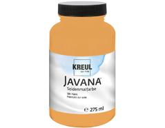 K8182-275 Pintura para seda albaricoque Javana