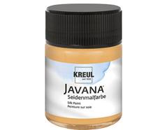 K8182 Pintura para seda albaricoque Javana