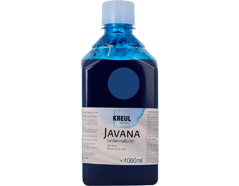 K8196-1LTR Pintura para seda azul noche Javana