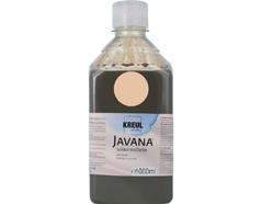 K8199-1LTR Pintura para seda beige Javana
