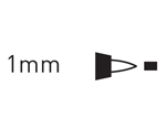 K90418 Rotulador para textil contorneador negro Javana tex - Ítem3