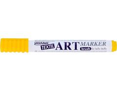 K90601 Rotulador para textil translucido amarillo punta pincel Javana tex