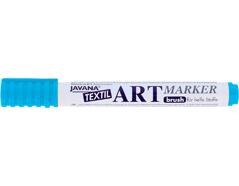 K90612 Rotulador para textil translucido azul claro punta pincel Javana tex