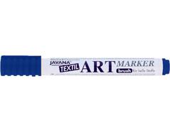 K90613 Rotulador para textil translucido azul punta pincel Javana tex