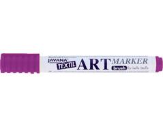 K90614 Rotulador para textil translucido violeta pastel punta pincel Javana tex