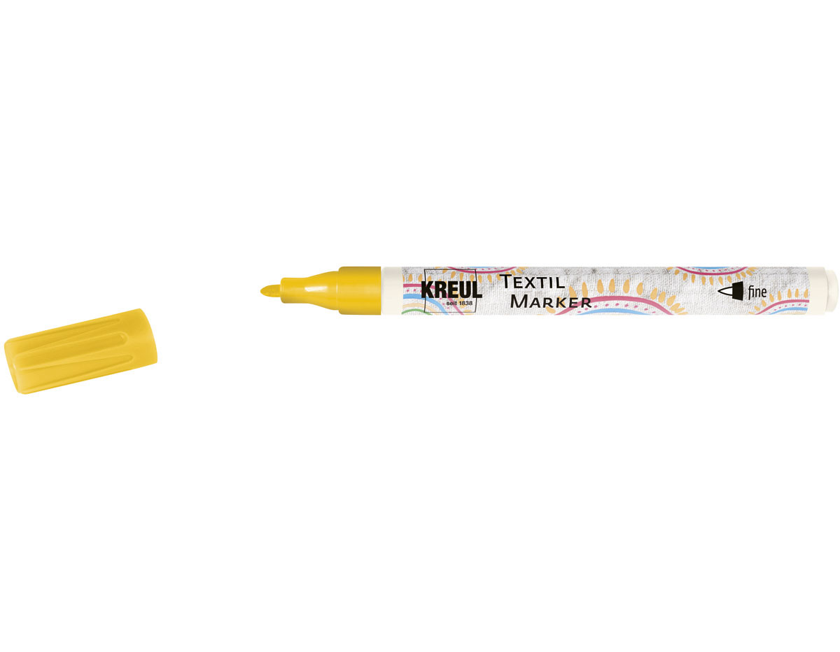 K90660 Rotulador para textil translucido amarillo punta bala Javana tex