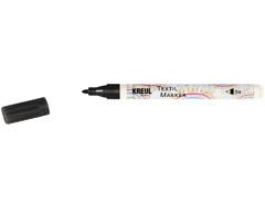 K90671 Rotulador para textil translucido negro punta bala Javana tex
