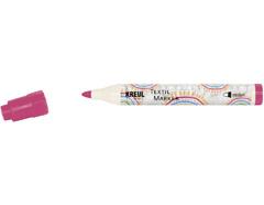 K90763 Rotulador para textil translucido rosa punta bala Javana tex
