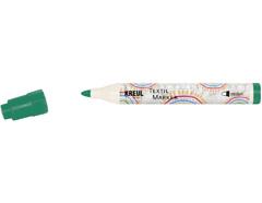 K90766 Rotulador para textil translucido verde punta bala Javana tex