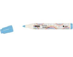 K90767 Rotulador para textil translucido azul palido punta bala Javana tex