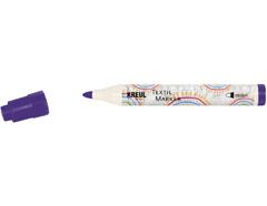 K90769 Rotulador para textil translucido violeta punta bala Javana tex