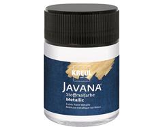 K92431 Pintura para textil efecto metalico blanco Javana tex