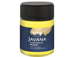K92432 Pintura para textil efecto metalico amarillo claro Javana tex