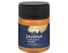K92433 Pintura para textil efecto metalico naranja Javana tex