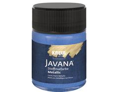 K92438 Pintura para textil efecto metalico azul zafiro Javana tex