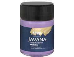 K92439 Pintura para textil efecto metalico lila Javana tex
