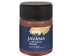 K92443 Pintura para textil efecto metalico marron Javana tex