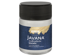 K92446 Pintura para textil efecto metalico plata Javana tex