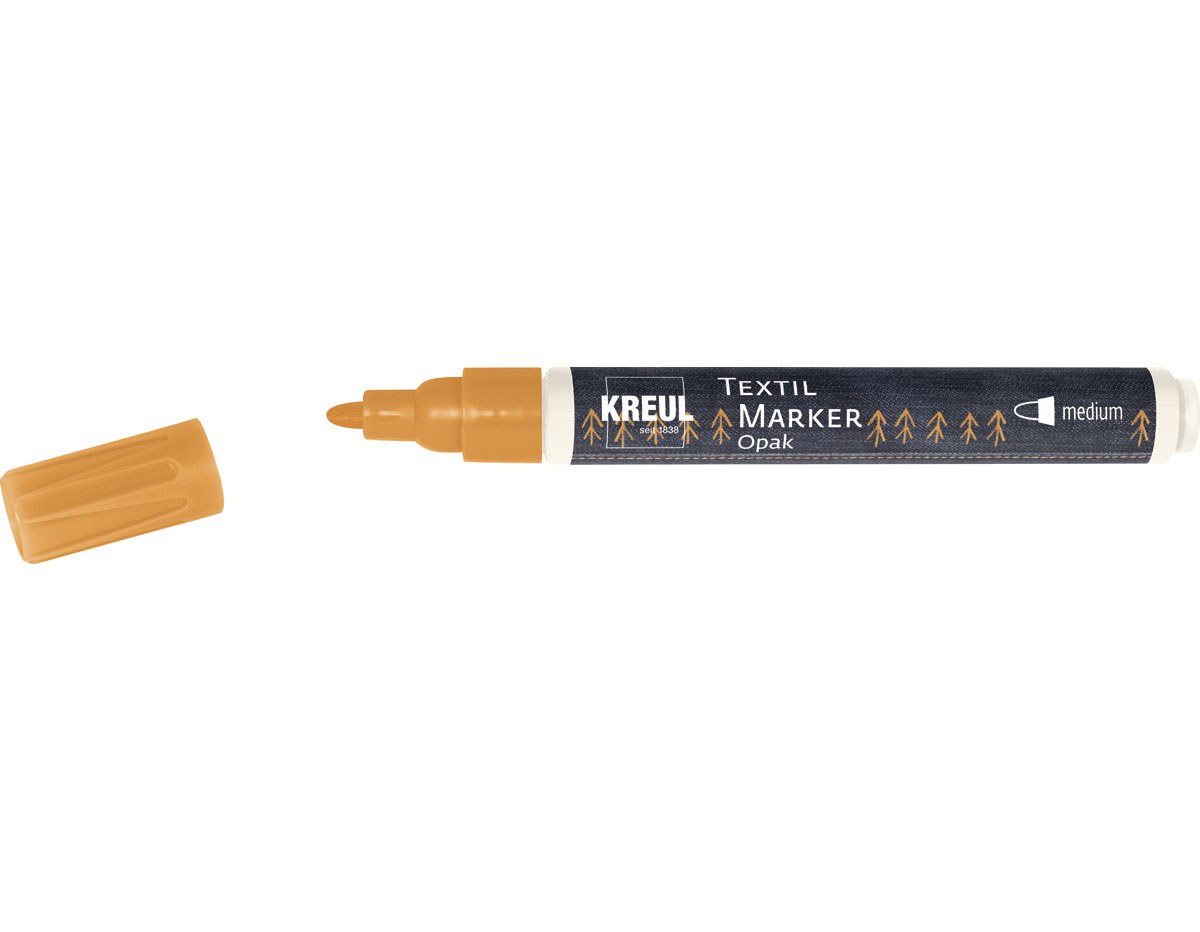 K92762 Rotulador para textil opaco naranja punta bala Javana tex