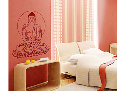KB6006 Plantilla autoadhesiva Buda XXL Home design