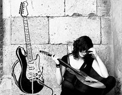 KB6020 Plantilla autoadhesiva guitarra XXL Home design