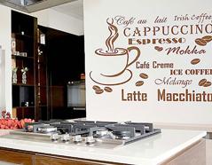 KB6032 Plantilla autoadhesiva cafe XXL Home design