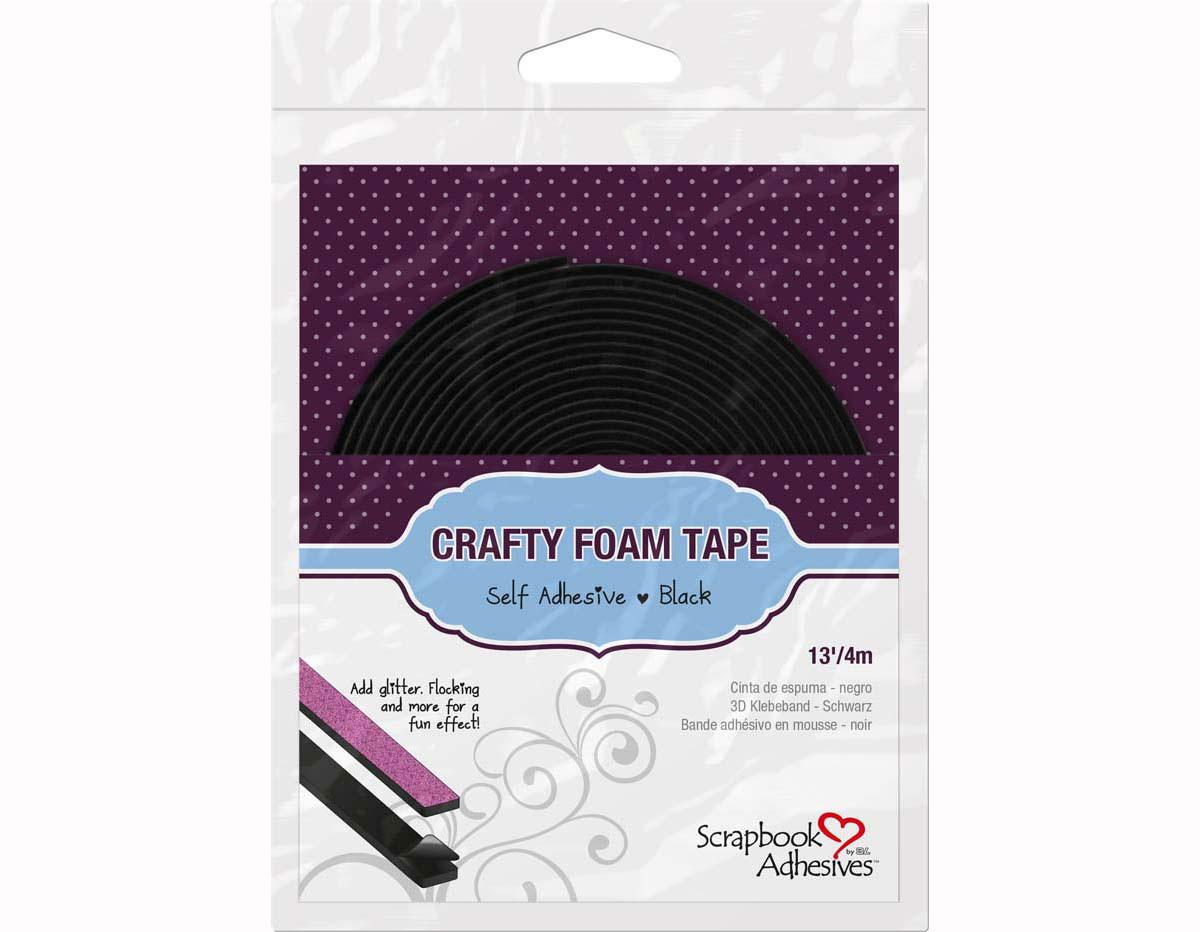 L01619 Adhesivo espuma 3D cinta negro Scrapbook Adhesives by 3L
