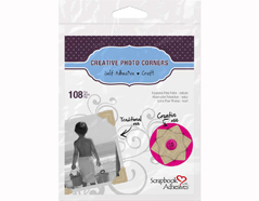 L01630 Esquinas adhesivas papel craft Scrapbook Adhesives by 3L