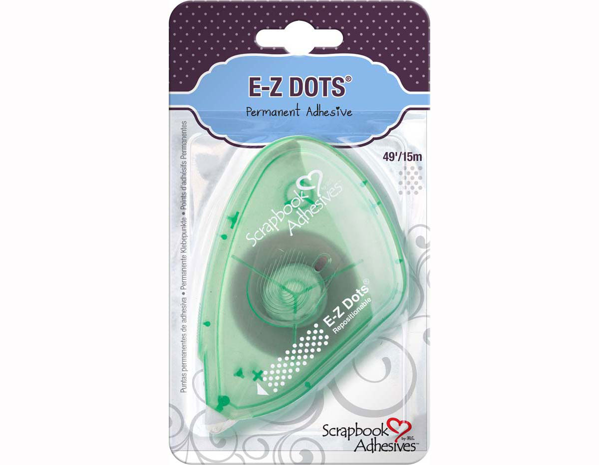 L01640 Adhesivo mini puntos removible Dispensador un solo uso Scrapbook Adhesives by 3L
