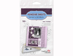 L01680 Hojas adhesivas doble cara Scrapbook Adhesives by 3L