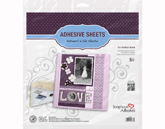 L01683 Hojas adhesivas doble cara Scrapbook Adhesives by 3L