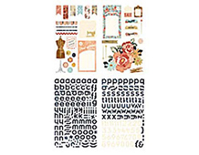 LCL-3876 LUCILLE - PRINTED CHIPBOARD Basic Grey