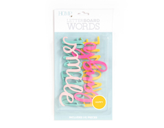 LP-006-00024 Set 4 palabras Word Pack Happy para Letter Board DCWV