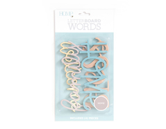 LP-006-00025 Set 4 palabras Word Pack Home para Letter Board DCWV