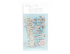 LP-006-00025 Set 4 palabras Word Pack Home para Letter Board DCWV - Ítem