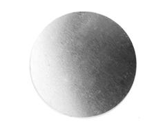 MP-100-004 Placa metal circulo Sheet Metal - Ítem