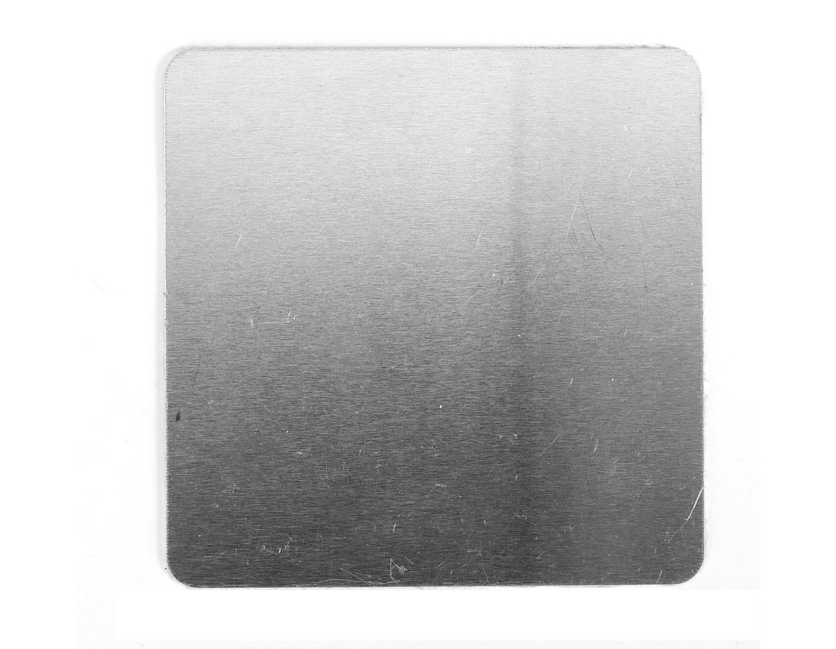 MP-200-004 Placa metal cuadrado Sheet Metal