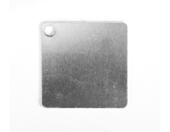 MP-300-001 MP-300-002 Placa metal rombo con agujero Sheet Metal