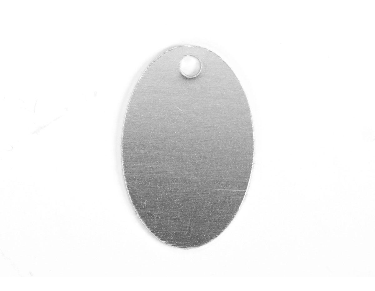 MP-400-001 MP-400-002 Placa metal ovalo con agujero Sheet Metal