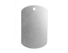 MP-600-005 Placa metal identificacion Sheet Metal