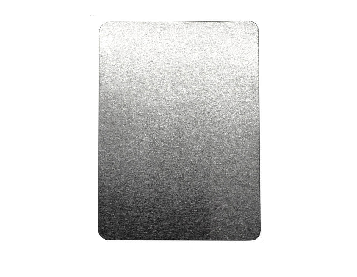 MP-700-005 Placa metal tarjeta artistica Sheet Metal