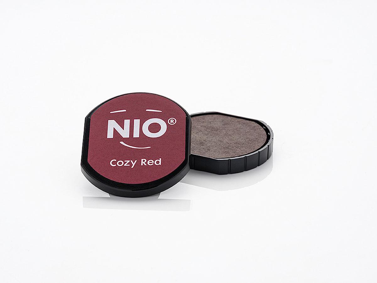 NI1003 Almohadilla de tinta color Cozy Red NIO