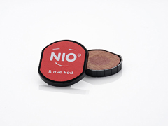 NI1004 Almohadilla de tinta color Brave Red NIO