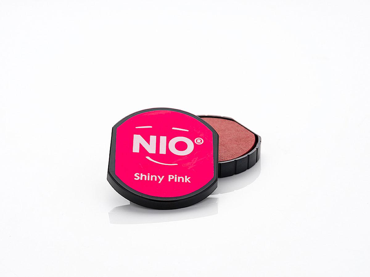 NI1005 Almohadilla de tinta color Shiny Pink NIO