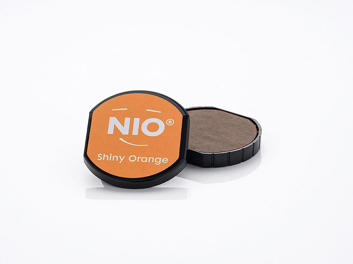 NI1007 Almohadilla de tinta color Shiny Orange NIO