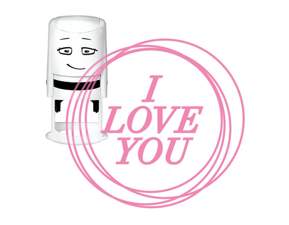 NI2013 Sello estandar para base NIO I love you puntos NIO