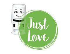 NI2014 Sello estandar para base NIO Just love NIO - Ítem