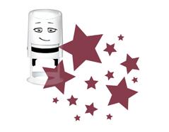 NI2017 Sello estandar para base NIO estrellas NIO - Ítem